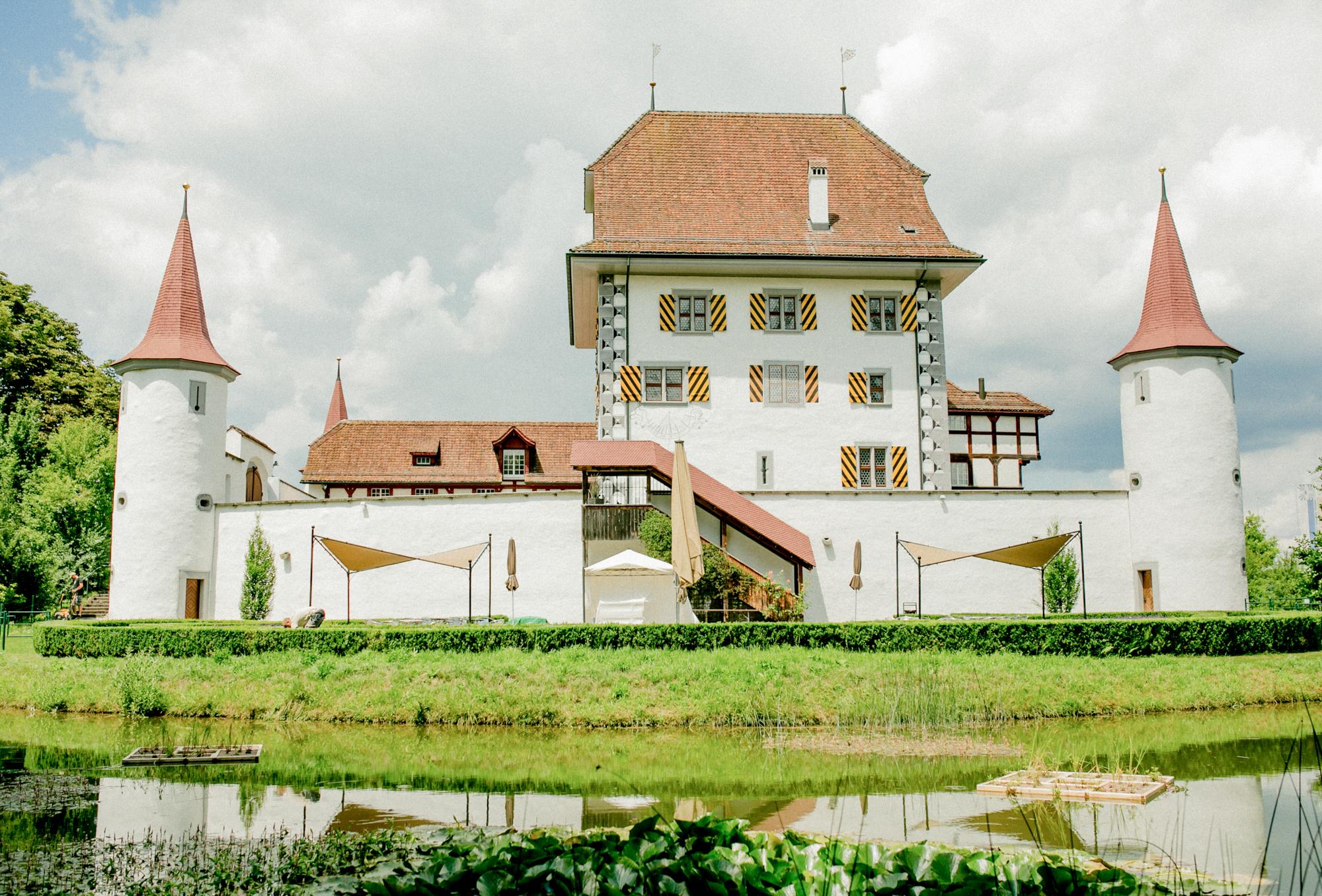 Hochzeitfotos - Schloss Wyher in der Schweiz - Luzern