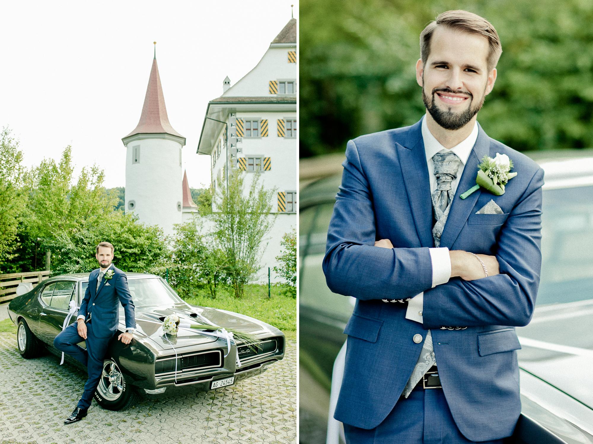 Hochzeitsfotos - Freie Trauung - Schloss Wyher in der Schweiz - Luzern